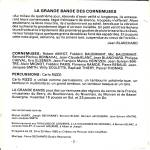 CD - La Grande Bandedes cornemuses (livret)