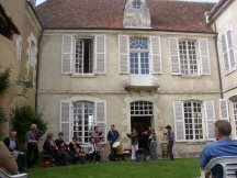 Présentation du CD Nohant au Château du Plaix - 2006