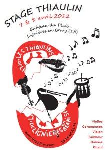 Stage thiaulin 2012 - affiche